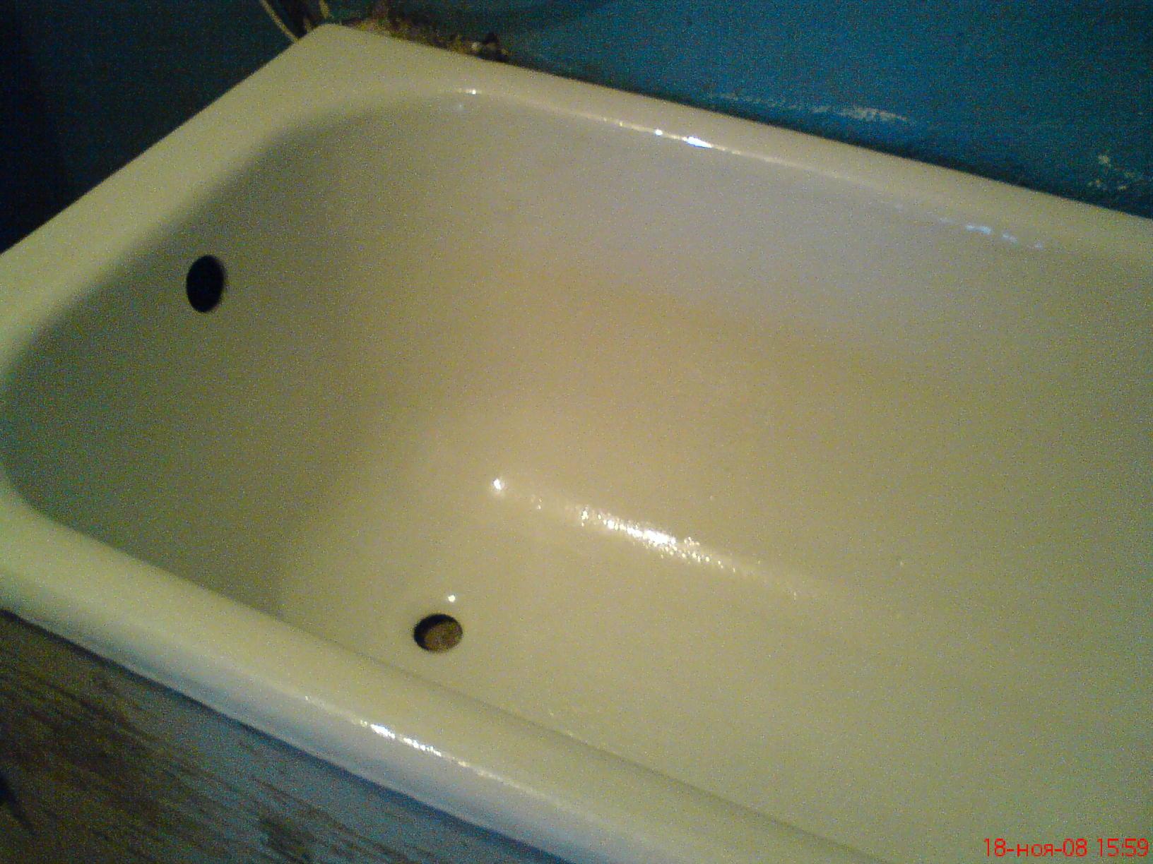 Сделали в ванной ремонт ванна